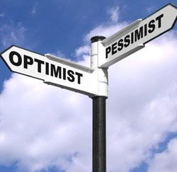 optimisme en pessimisme